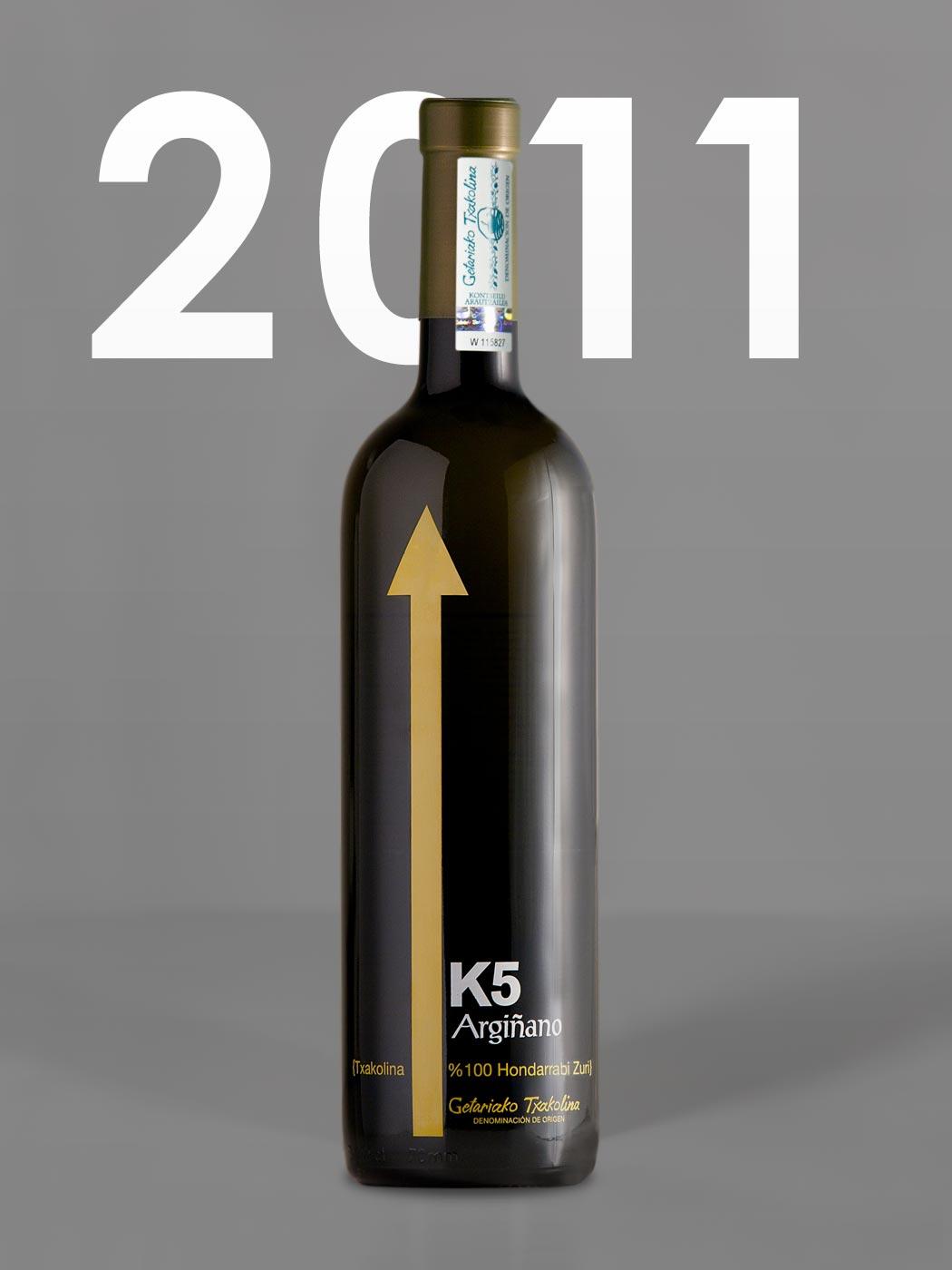 Txakolina K5 añada 2011