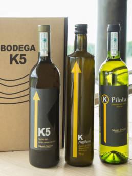 Pack productos de la bodega K5
